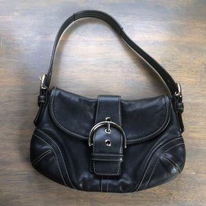 COACH dark gray mini bag, GUC